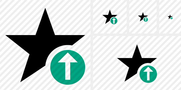 Star Upload Symbol
