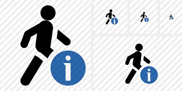 Walking Information Symbol