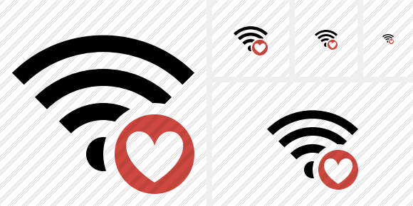 Wi Fi Favorites Icon