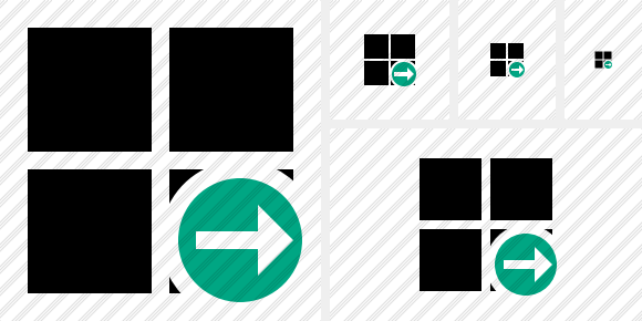 Windows Next Icon