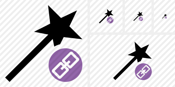 Wizard Link Icon