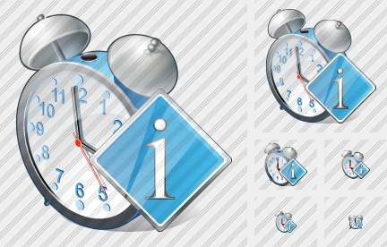 Alarm Clock Info Icon