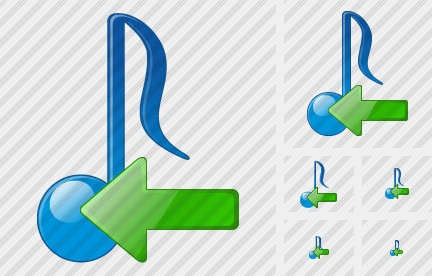 Audio Import Icon