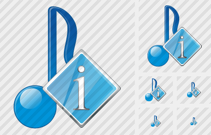 Audio Info Icon