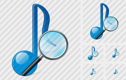 Audio Search 2 Icon