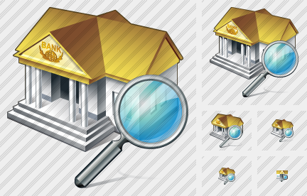 Bank Search Icon