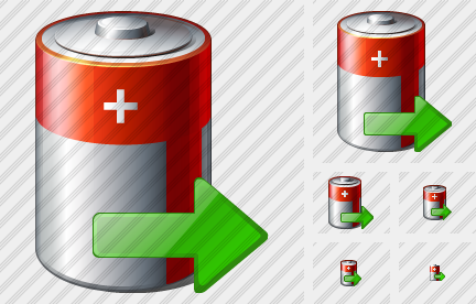 Battery Export Icon