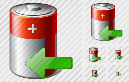Battery Import Icon