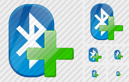 Bluetooth Add Icon