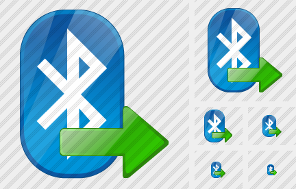 Bluetooth Export Icon