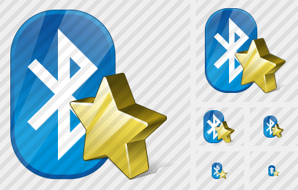 Bluetooth Favorite Icon