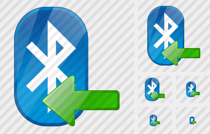 Bluetooth Import Icon