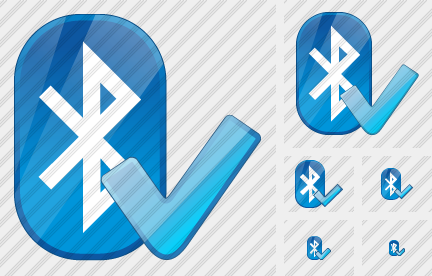 Bluetooth Ok Icon