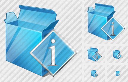 Box Open Info Icon