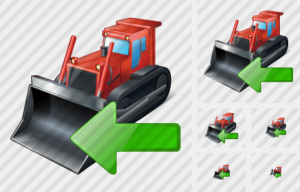Bulldozer Import Icon