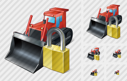 Bulldozer Locked Icon