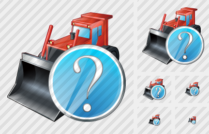 Bulldozer Question Icon