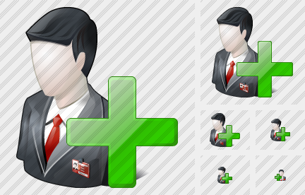 Business User Add Icon