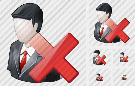 Business User Delete Icon