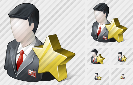 Business User Favorite Icon
