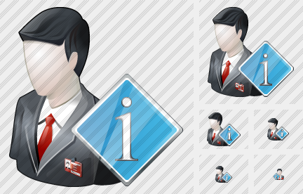 Business User Info Icon