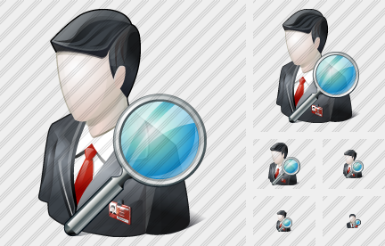 Business User Search Icon