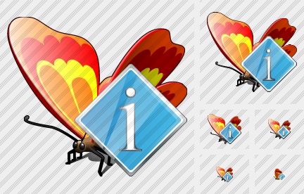 Butterfly Info Icon