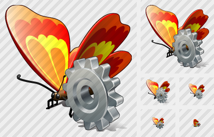 Butterfly Settings Icon