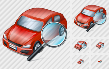 Car Search 2 Icon