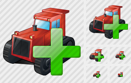 Catterpillar Tractor Add Icon