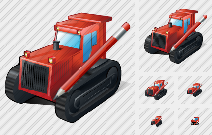 Catterpillar Tractor Edit Icon
