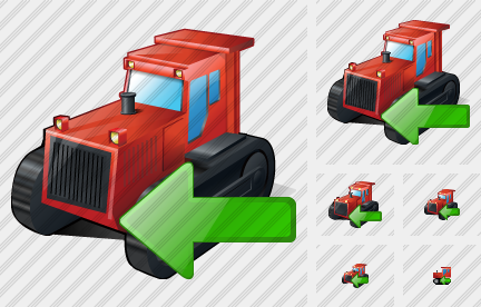 Catterpillar Tractor Import Icon