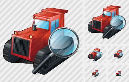 Catterpillar Tractor Search 2 Icon