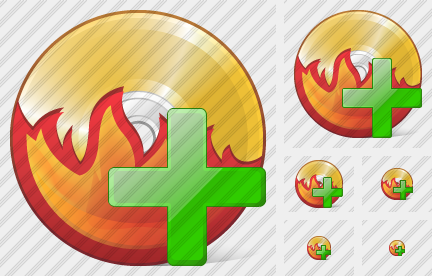 CD Burn Add Icon