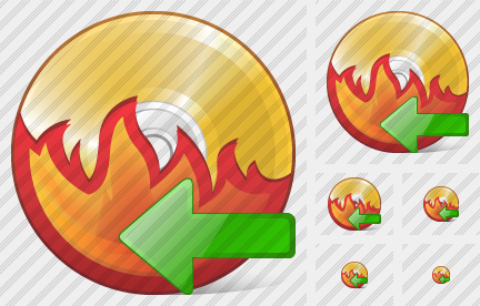 CD Burn Import Icon
