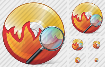 CD Burn Search 2 Symbol