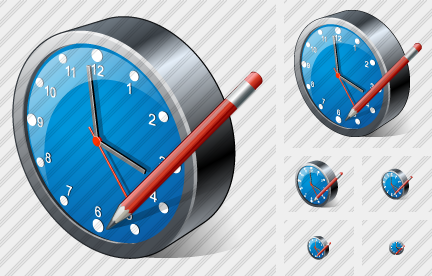 Clock Edit Icon