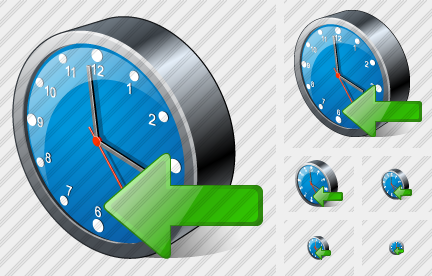 Clock Import Icon