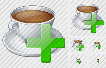 Coffee Cup Add Icon