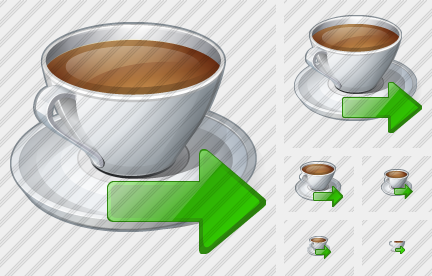 Coffee Cup Export Icon