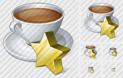 Coffee Cup Favorite Icon