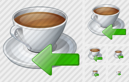 Coffee Cup Import Icon