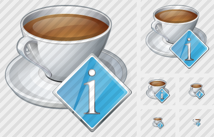 Coffee Cup Info Icon