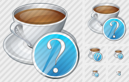 Coffee Cup Question Icon
