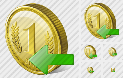 Coin Import Icon