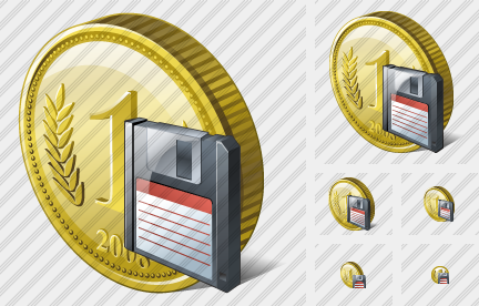 Coin Save Icon