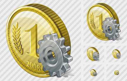 Coin Settings Icon