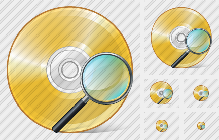 Compact Disk Search 2 Symbol