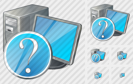 Computer Question Icon
