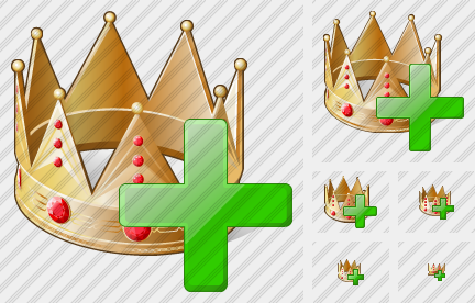 Crown Add Icon